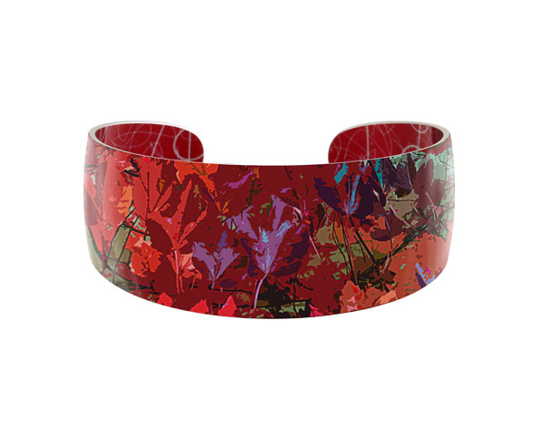 Meadow Red bangle Pixalum