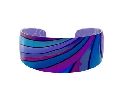 Ribbon Blue Bangle