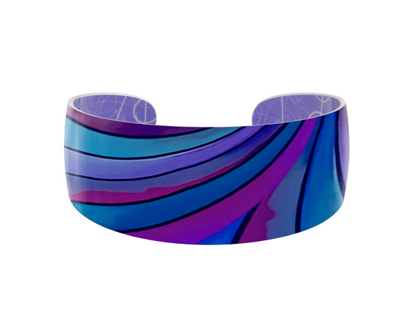 Ribbon Blue Bangle Pixalum