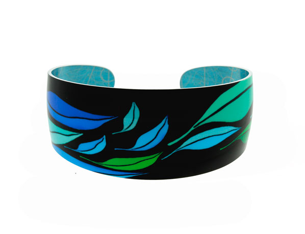 Seasons Blue Bangle Pixalum