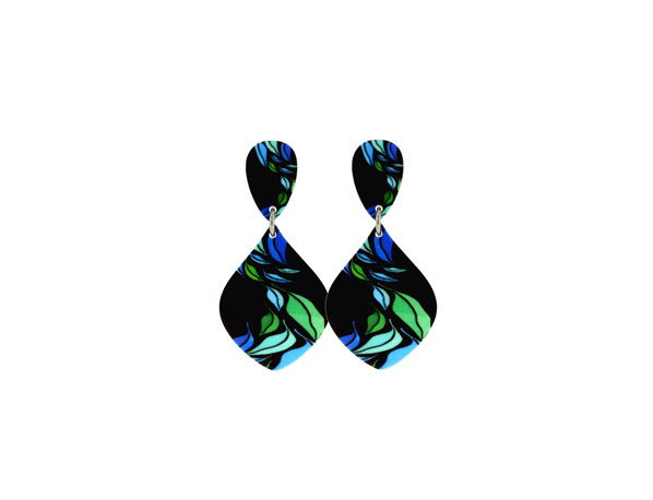 Seasons Blue Earrings Pixalum
