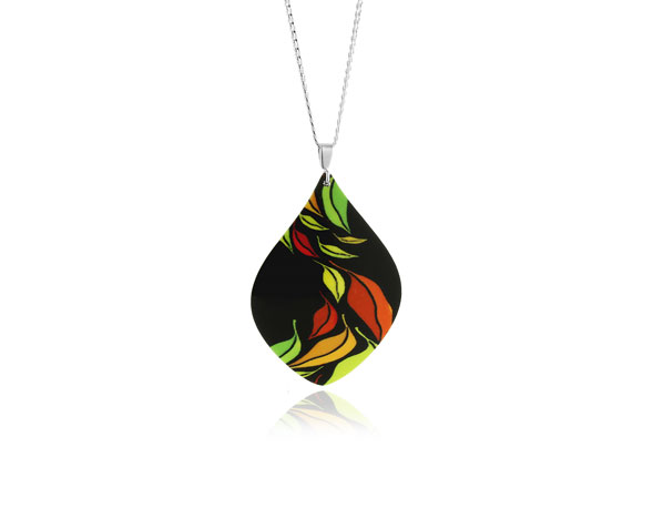 Seasons Green Pendant