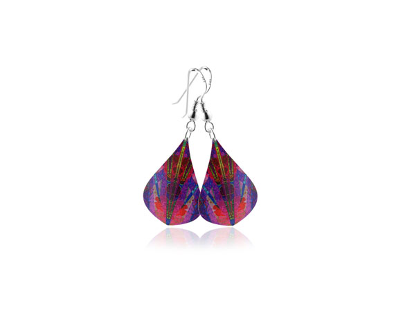 Kaleidoscope-Pink-Earrings Pixalum