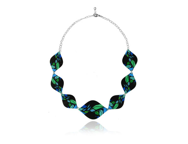 Seasons Blue Necklace Pixalum