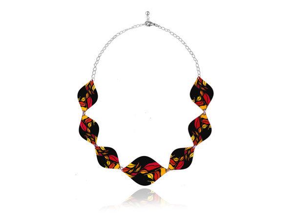 Seasons Red Necklace Pixalum