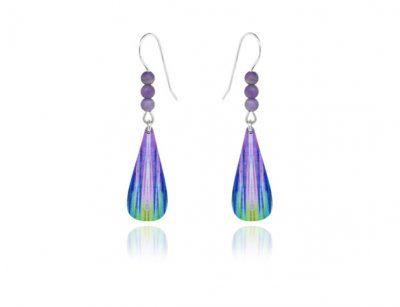 Bolero Purple Earrings