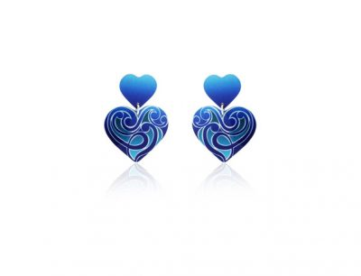 Amour Blue earrings
