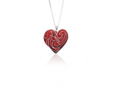 Amour Red pendant