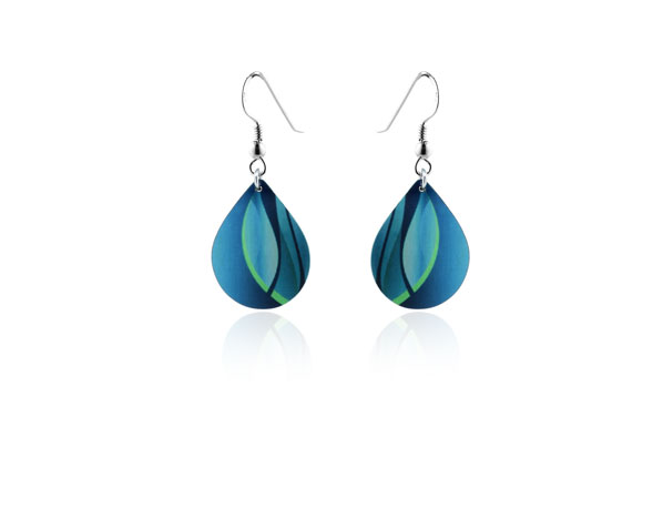 Accent Turquoise Earrings
