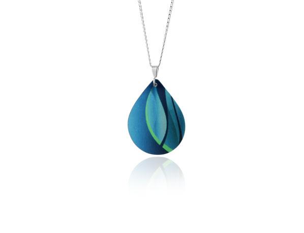 Accent Turquoise Pendant