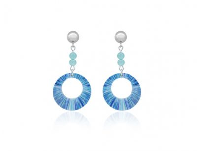 Anenome-Blue-Earrings