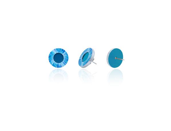 Anenome-Blue-Stud-Earrings
