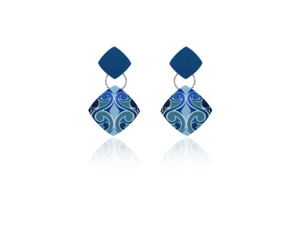 Barcelona Blue Earrings