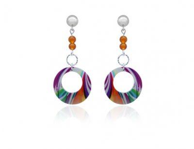 Paradise-Orange-Earrings