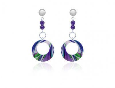 Paradise-Purple-Earrings