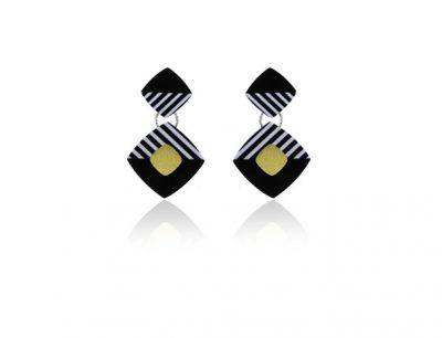 Cocktail 1 Black Earrings